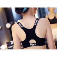Áo lót Bra thể thao Pink cá tính (đồ tập thể thao, tập gym, thể dục,thể hình, yoga) – Hàng nhập khẩu