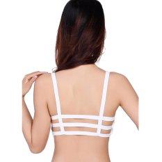 Áo lót ngực Caged Bra 3 dây (Trắng)