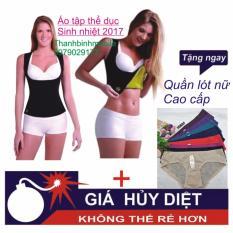 Áo tập thể dục sinh nhiệt size L + Tặng quần lót cao cấp