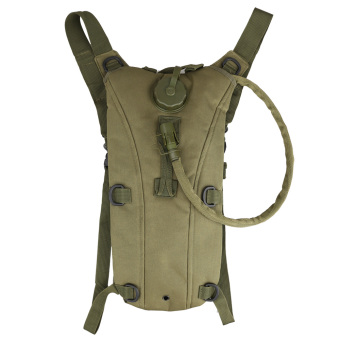 Army Green Tactical Outdoor Survival 3L Water Backpack Bag with Bladder