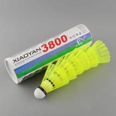 Aukey 6 cái Tàu Tập Gym Vàng Nylon Đá Cầu Cầu Lông Bóng Thể Thao Nhựa Hữu Ích