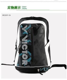 Balo Victor BR3009 Xanh Phối Đen