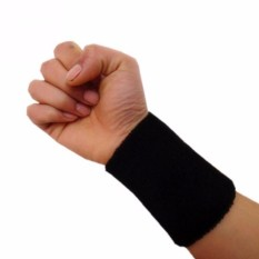 Băng bảo vệ cổ tay khi chơi thể thao loại 15cm (Đen)