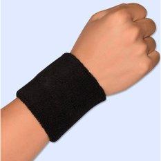 Băng bảo vệ cổ tay khi chơi thể thao loại 8cm (Đen)