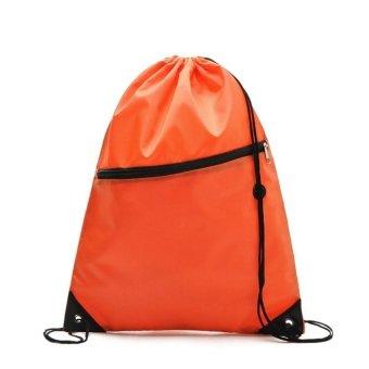 Bang Drawstring Storage Bag For Sport Gym Swim Dance Shoe Hikingbackpack - intl