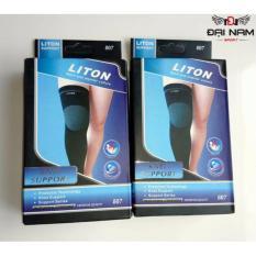 Băng quấn bảo vệ đầu gối bóng đá Liton chất liệu co giãn cotton