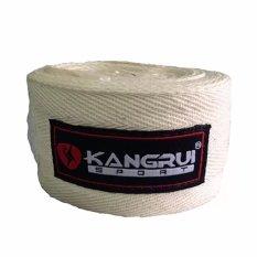 Băng quấn tay tập võ kangrui KB 802 (Trắng)