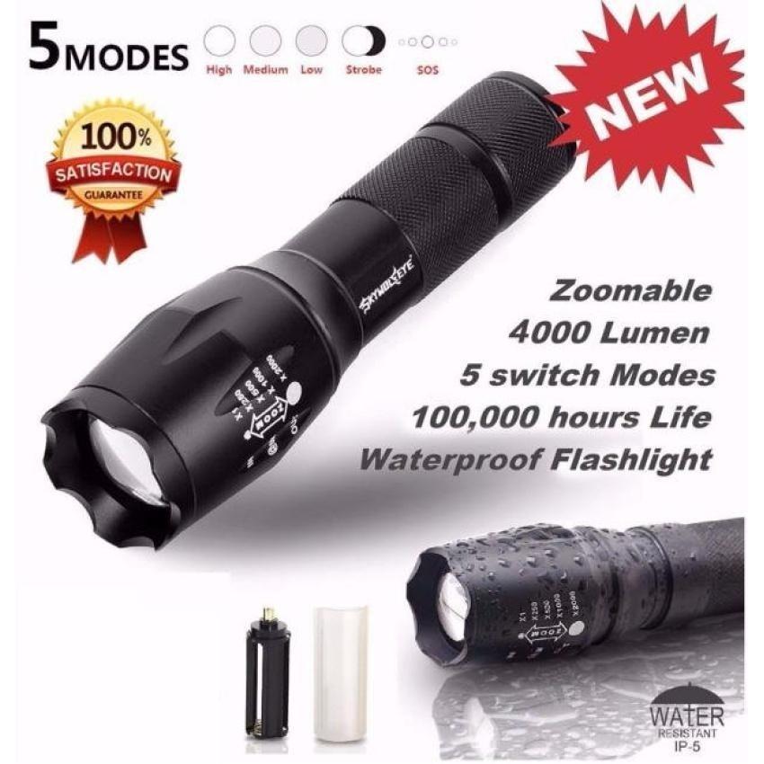 Bang Tactical Led Flashlight G700 X800 Zoom Super Brightmilitary Grade - intl
