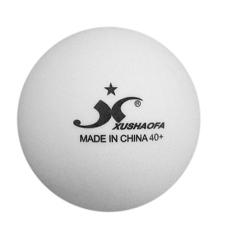 Banh bóng bàn XUSHAOFA 1 sao (40+) – Thùng 100 trái trắng