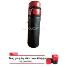 Bao đấm boxing 80cm + tặng găng tay đấm