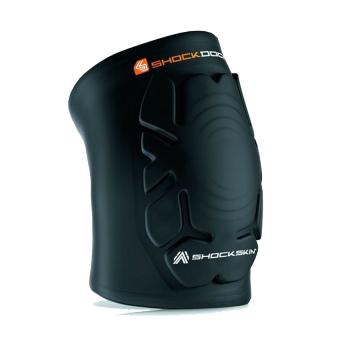 Bảo hộ cùi chỏ/đầu gối knee/elbow pads shockskin guards ShockDoctor (Đen)