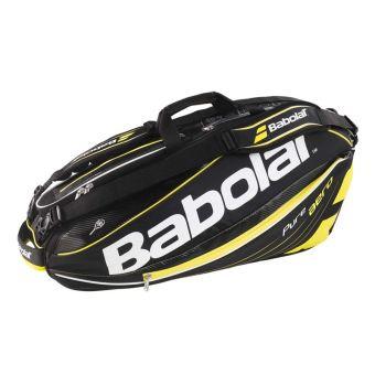 Bao vơt Tennis Babolat 2 ngăn Racket Holder X6 Pure Aero - 751102(Vàng).