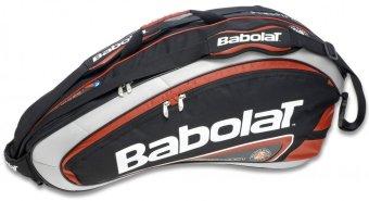 Bao vợt Tennis Babolat Racket Holder X6 Team RG/FO