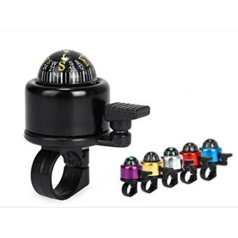 Bicycle compass bell black - intl