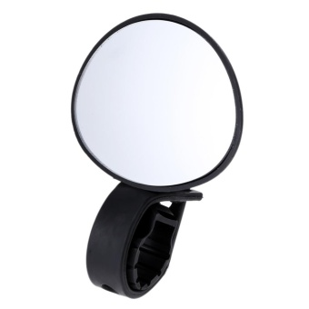 Bicycle Handlebar 360 Degree Rotate Rear View Mirror(Black) - intl
