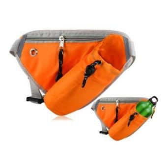 Bicycle riding water bottle Triangle lips orange - intl