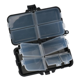 Bigskyie Fishing Tackle Boxes Accessories Fish Lure Bait Hooks Tackle - intl