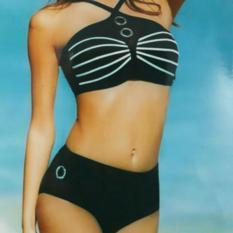 Bikini Hai MảNh MắT Mèo QuầN CạP Cao