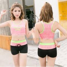 Bikini Kiểu Thể Thao Đa Năng AT031 (Hồng)