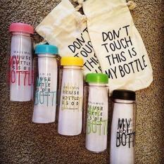 Bình nước my bottle + tặng kèm túi