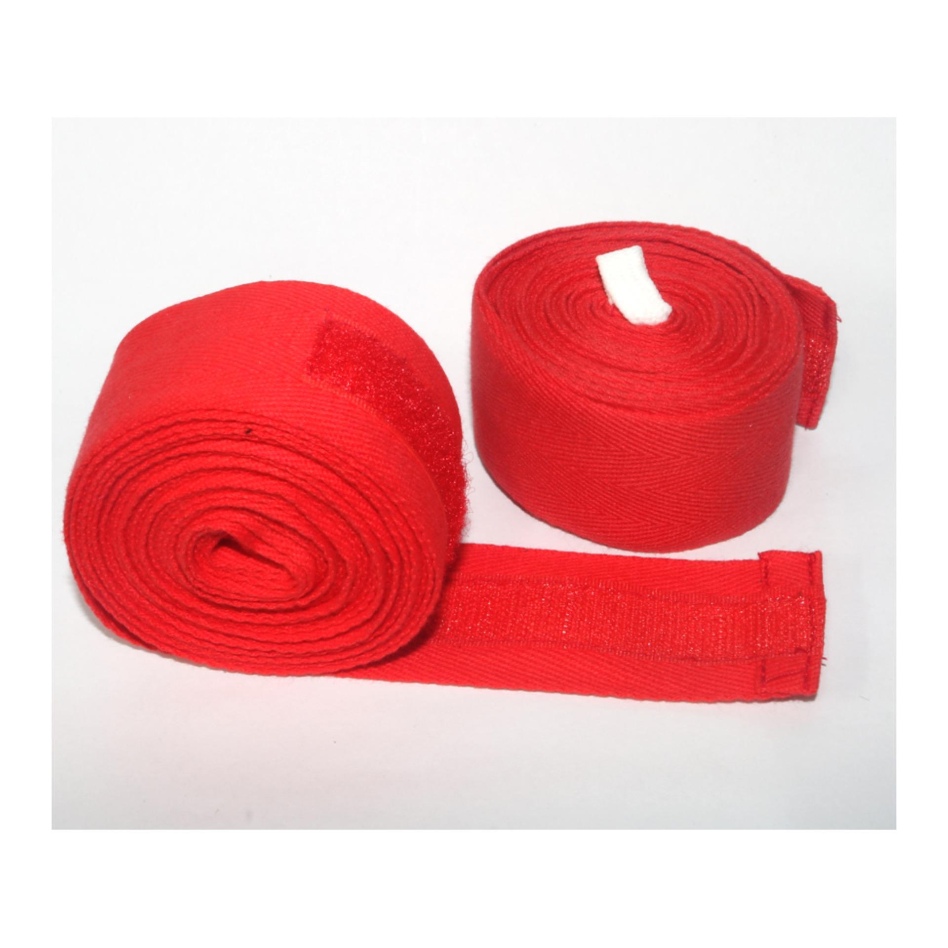 Bộ 2 cái băng cuốn tay đấm boxing phucthanhsport (Đỏ)