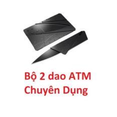 Bộ 2 Dao ATM Bỏ Túi Chuyên Dụng