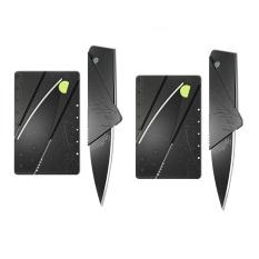 Bộ 2 dao xếp hình ATM bỏ túi Huy Tuấn Knife ATM (Đen).
