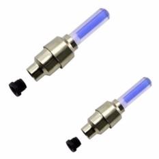 Bộ 2 đèn led gắn van bánh xe đạp ( Màu ngẫu nhiên )
