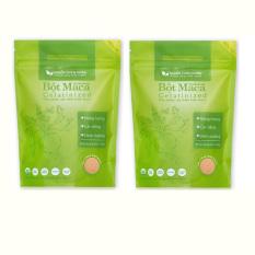 Giá bán Bộ 2 gói bột Maca Nguồn Thiên Nhiên Organic Gelatinized 200g x 2