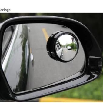 Bộ 2 gương chiếu hậu cầu lồi cho xe ô tô 7 - 9 Chỗ ( Trắng )