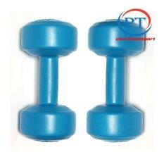 Bộ 2 tạ tay nhựa 3kg phucthanhsport