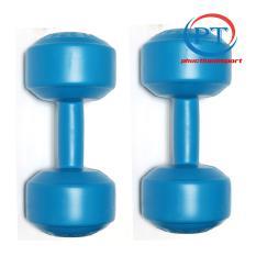 Bộ 2 tạ tay nhựa 5kg phucthanhsport (2 cục tạ 5kg tổng 10kg)