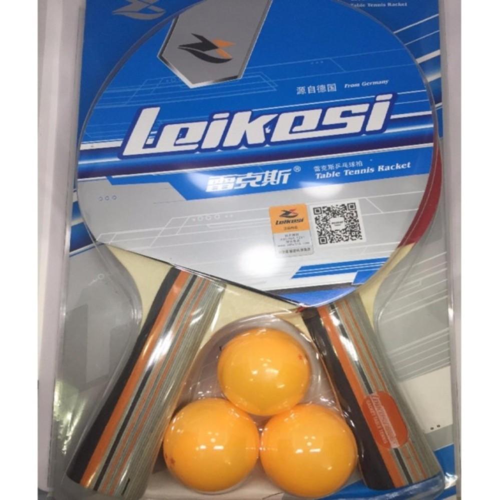 Bộ 2 vợt bóng bàn cao cấp LX-2122 kèm 3 bóng