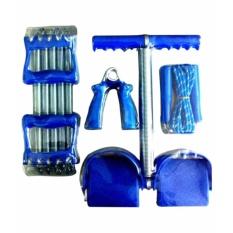 Bộ 4 món dụng cụ tập thể dục đa năng Tumny và lò xo tập tay