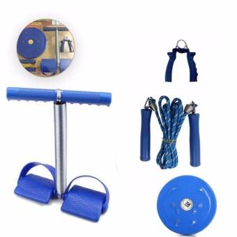 Bộ 4 món dụng cụ tập thể dục tiện dụng VegaVN cho nữ (Xanh)