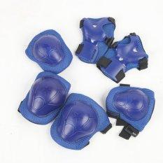Bộ 6 miếng bảo vệ tay và chân cho bé 2-6 tuổi (Xanh)