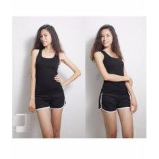 Bộ quần short áo ba lỗ trẻ trung năng động Chipxinhxk