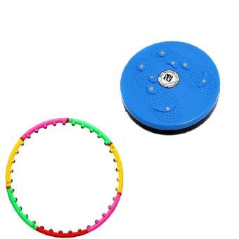 Bộ vòng lắc eo giảm cân hoạt tính massage và đĩa xoay eo - 8619683 , OE680SPAA3IZD9VNAMZ-6232779 , 224_OE680SPAA3IZD9VNAMZ-6232779 , 376000 , Bo-vong-lac-eo-giam-can-hoat-tinh-massage-va-dia-xoay-eo-224_OE680SPAA3IZD9VNAMZ-6232779 , lazada.vn , Bộ vòng lắc eo giảm cân hoạt tính massage và đĩa xoay eo