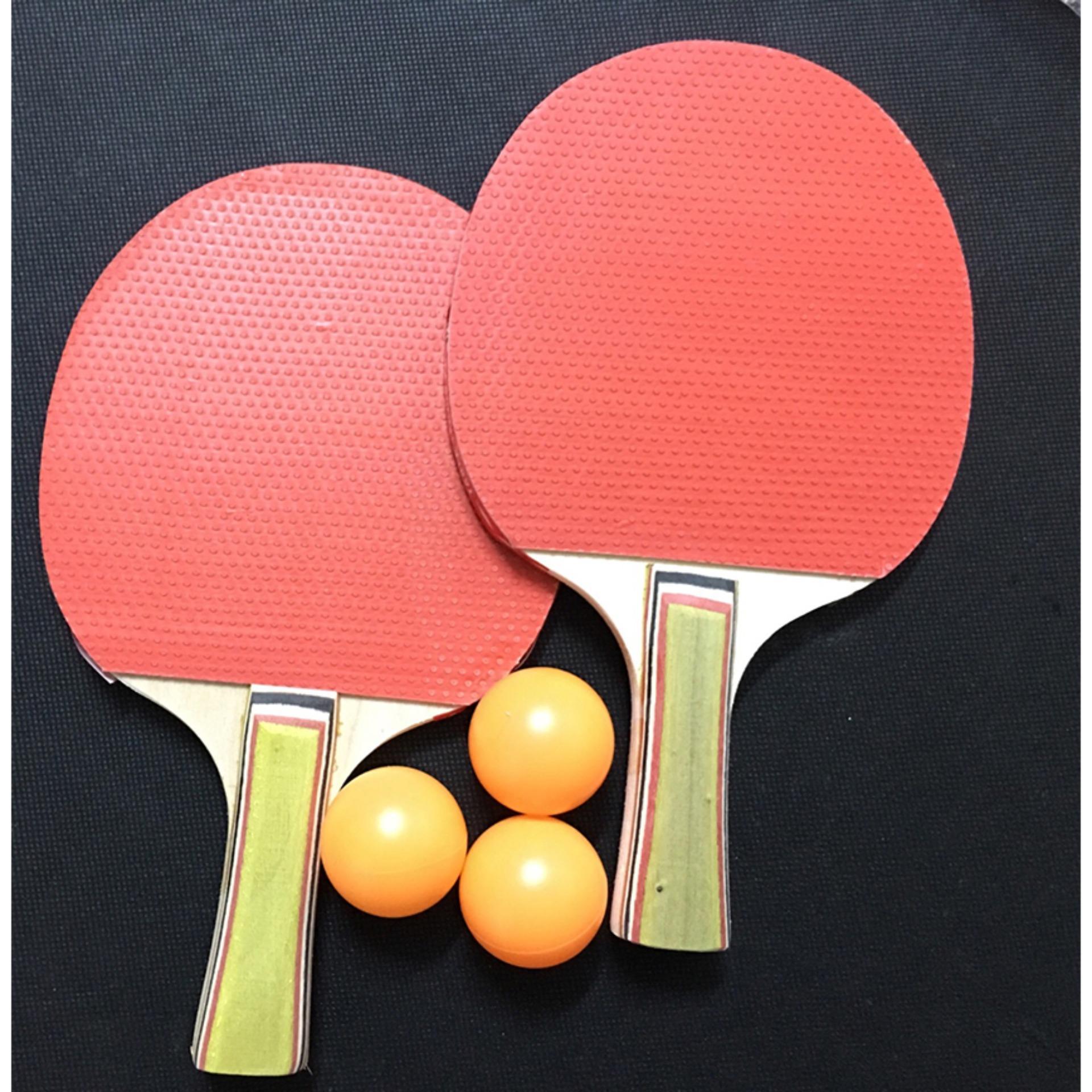 Bộ vợt bóng bàn giá rẻ tphcm kèm 3 bóng Giá Tốt LY-5417