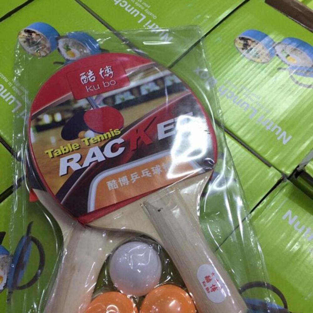 Bộ vợt bóng bàn kèm bóng