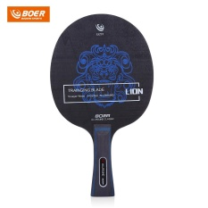 BOER Outdoor Lion Pattern Table Tennis Ping Pong Racket Training Blade (Long Handle) – intl