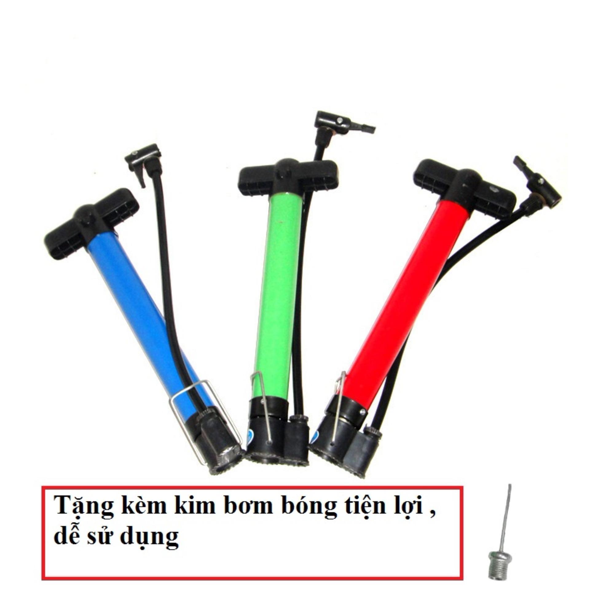 Mẫu sản phẩm Bơm cầm tay đa năng tặng kèm kim bơm bóng tiện lợi
