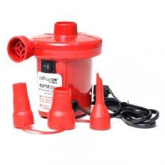 Bơm điện 2 chiều thổi hơi hút chân không Wenbo (Đỏ)