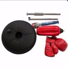 Bóng phản xạ cao cấp người lớn+ Găng tay boxing+ Bơm.