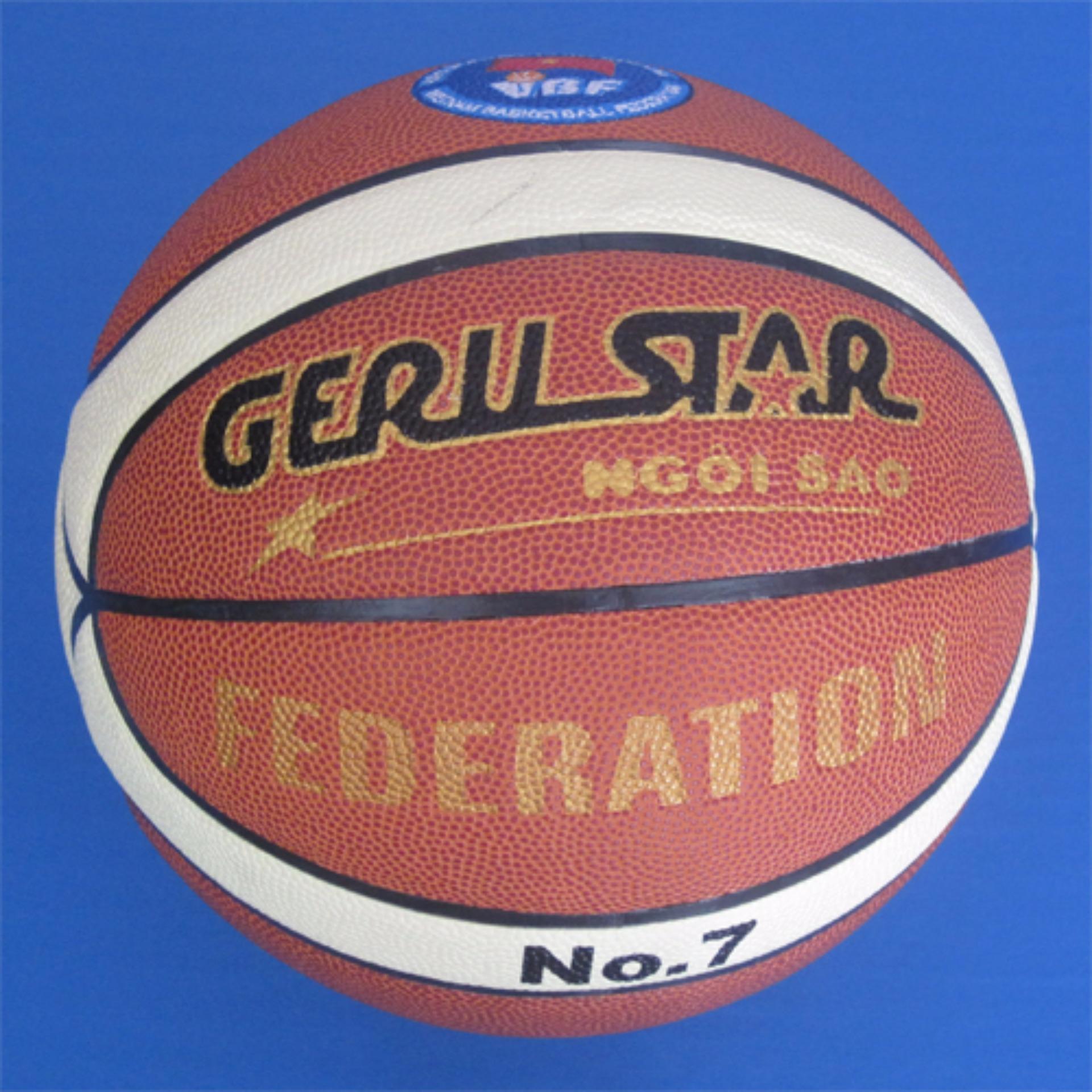 Bóng rổ da Federation số 7 Geru Sport