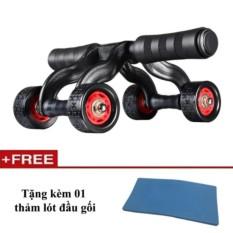 Con lăn tập cơ bụng 4 bánh cao cấp KAMA Ab Roller