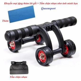 Con lăn tập cơ bụng 4 bánh cỡ lớn cao cấp(AB roller anh push upbar)QS - 8343518 , NO007SPAA6KT8UVNAMZ-12109562 , 224_NO007SPAA6KT8UVNAMZ-12109562 , 430100 , Con-lan-tap-co-bung-4-banh-co-lon-cao-capAB-roller-anh-push-upbarQS-224_NO007SPAA6KT8UVNAMZ-12109562 , lazada.vn , Con lăn tập cơ bụng 4 bánh cỡ lớn cao cấp(AB rolle