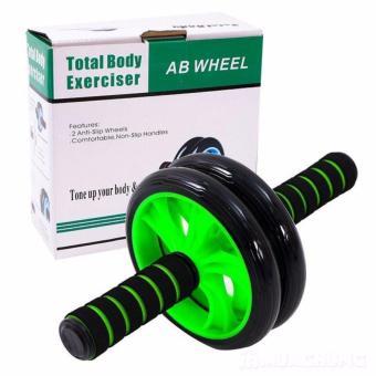 Con lăn tập cơ bụng AB Wheel (Xanh lá) + thảm lót gối