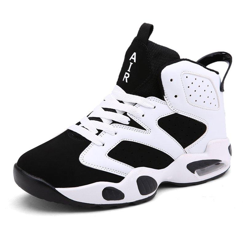 Đôi giày thể thao of đôi Unisex Thoáng Khí Bóng rổ Giày dép Giày thể thao Giày đi du lịch ngoài trời Trắng-quốc tế