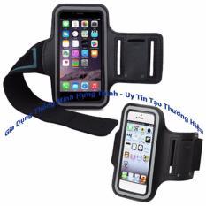 đai chạy bộ đeo bắp đựng điện thoại có phản quang sử dụng cho điện thoại 5,5 inh trở xuống